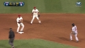 Kipnis starts second double play