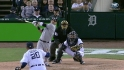 Swisher&#039;s game-tying single