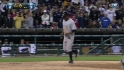 Teixeira ties it with a walk