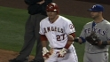 Trout&#039;s infield hit