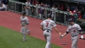 Morneau&#039;s RBI infield single