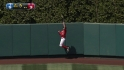 Bourjos' catch at the wall