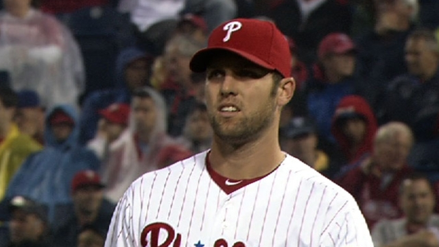 Phillies recall Savery to fill spot in bullpen