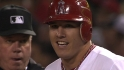 Trout's four hits