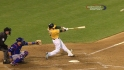Cowgill&#039;s two-run shot
