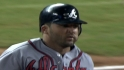 Uggla's four hits