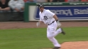 Holaday's first MLB hit