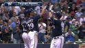 Green's first career home run