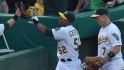 Cespedes&#039; terrific sliding catch