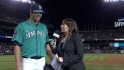 Wilhelmsen talks about no-hitter