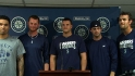Mariners relievers on no-hitter