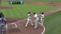 Uggla's three-run shot