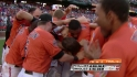 Jones' walk-off homer