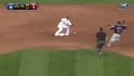 Molina throws out Cabrera