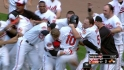Wieters&#039; walk-off double