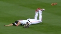 Flaherty's diving catch