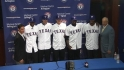 Rangers introduce Draft picks