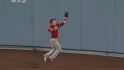 Trout&#039;s running catch
