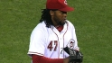 Cueto&#039;s complete-game victory