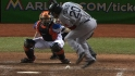 Youkilis hit by a pitch