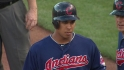 Brantley extends hitting streak