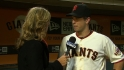 Posey on Cain's perfect game