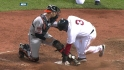 Pedroia's sacrifice fly