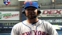 Dickey on his one-hitter