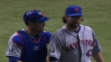 Collins, Dickey on one-hitter