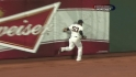 Melky's running catch