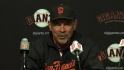 Bochy on Cain's perfect game