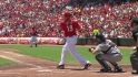 Votto's three-run wallop