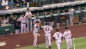 Melky's two-run homer
