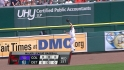 Raburn&#039;s leaping catch