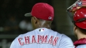 Chapman slams the door