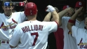 Holliday&#039;s two-run shot