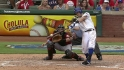 Kinsler&#039;s three-run triple