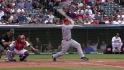 Rolen&#039;s first RBI single