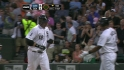 Pierzynski's solo home run