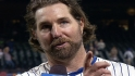 Dickey on his second one-hitter