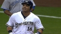 Aramis powers Brewers to win