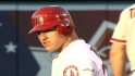 Trout&#039;s great night at the plate