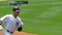 Jeter's leadoff shot