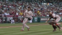 Posey&#039;s heads-up play