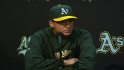 Melvin on A&#039;s win over Dodgers