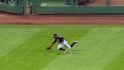 Span&#039;s acrobatic catch
