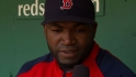 Ortiz talks negativity