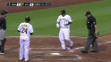 Barajas&#039; two-run shot