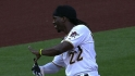 McCutchen&#039;s three-hit game