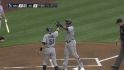 Gutierrez&#039;s two-run shot